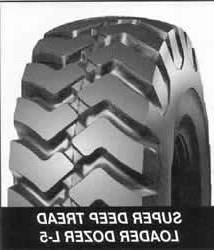 SUPER DEEP TREAD LOADER DOZER TL