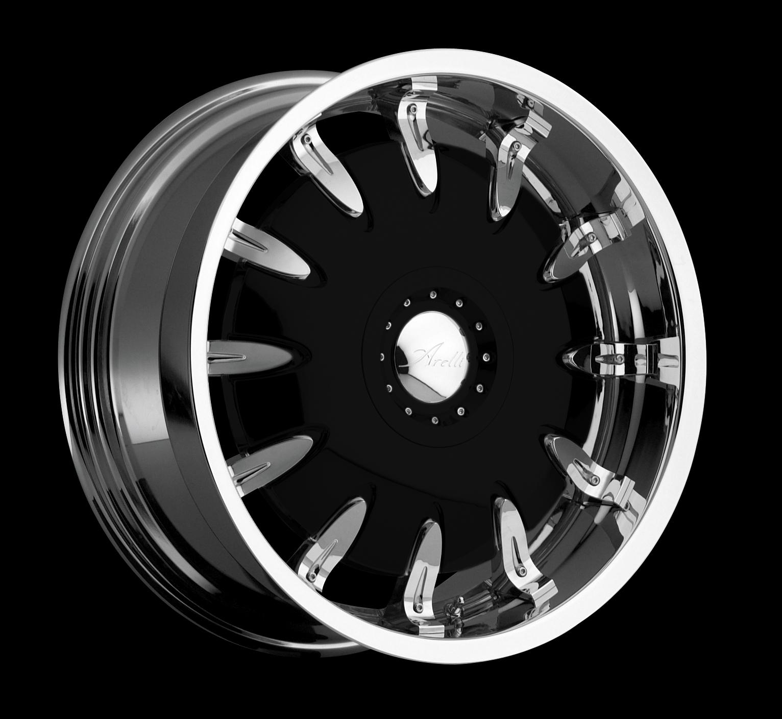Nearest Used Tire Shop >> Geneva Black - Arelli Wheels